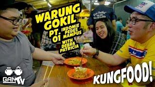 KUNGFOOD #18 WARGOK with @debrapatricia (Muara Karang) PART 1