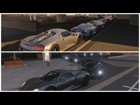 Forza Horizon 3 | Hyper Super Car Meet | 1400+HP 918 Build, Cruise, HWY Runs, Airstrip Digs & More