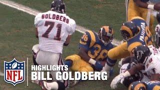 WWE Star Bill Goldberg NFL Highlights | Atlanta Falcons