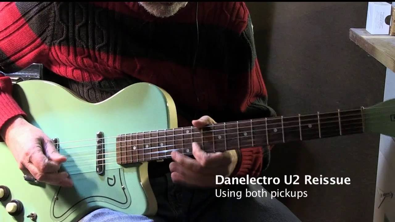 danelectro u2 danelectro 63 reissue and road worn telecaster youtube. Black Bedroom Furniture Sets. Home Design Ideas