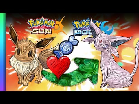 HOW TO Evolve Eevee into Espeon in Pokemon Sun and Moon