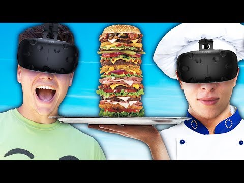 JELLY AND SLOGOMAN IN A VR KITCHEN!