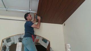 طريقة تركيب أسقف و جدران من ال p.v.c ( الشفرات البلاستيكية )