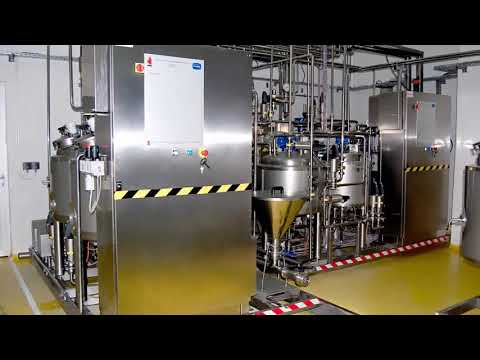 Pilot Plant For YOGURT Production - WWW.DIDACTA.IT
