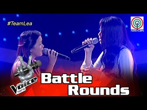 The Voice Teens Philippines Battle Round: Fatima vs. Shell - Sana Bukas Pa Ang Kahapon