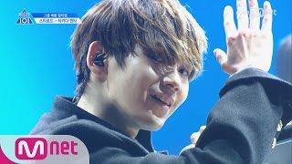 PRODUCE 101 season2 [단독/직캠] 일대일아이컨택ㅣ타카다 켄타 - 인피니트 ♬내꺼하자_2조 @그룹배틀 170421 EP.3