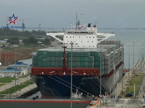Raw: Panama Canal Opens New Locks