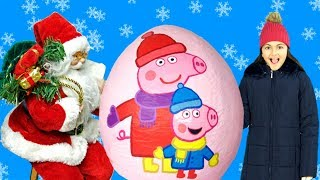 Peppa Pig - Peppa's Christmas Wish 🎅  Peppa Pig Full English Episode -Peppa Pig Christmas Toys🎁