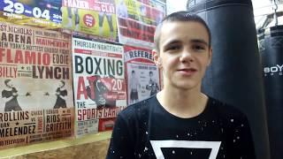 Геннадій Масленніков - золотий призер з боксу після поєдинку в Ірландії