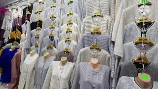 Кардиганы женские комзолы и жилетки альпака на барахолке алматы Оптовые точки Алматы базары