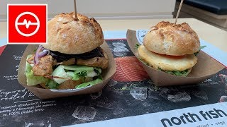 Halloumi + Tuna Burger North Fish | Wiosenne Strzelanie