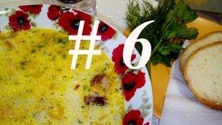 СЫРНЫЙ СУП С ОХОТНИЧЬИМИ КОЛБАСКАМИ  Рецепт сырного супа  Как приготовить сырный суп