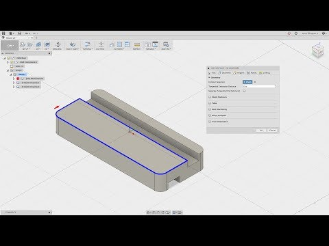 Fusion 360 CAM - Selecting Geometry