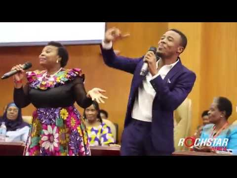 ALIKIBA with Mama YVONNE CHAKA CHAKA presents Akili Ya Mama for the first time