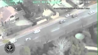 South Australia's Craziest High-Speed Pursuit (June 2012)