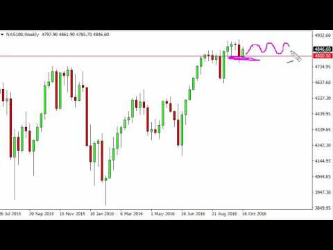 NASDAQ Index forecast for the week of October 24 2016, Technical Analysis