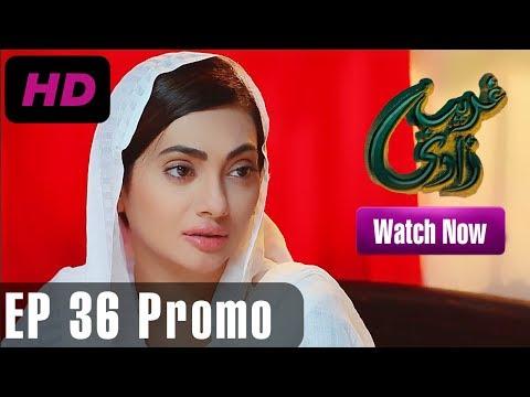 Ghareebzaadi - Episode 36 Promo | A Plus ᴴᴰ Drama | Suzzaine Fatima, Shakeel Ahmed, Ghazala Kaife