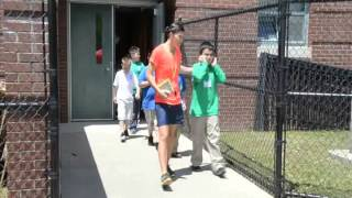 Walk to School Day at the Silvia School   May 21 2014