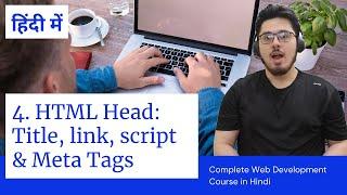 HTML Tutorial: Title, Script, Link & Meta Tags   Web Development Tutorials #4