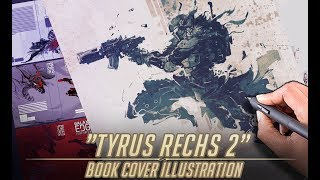 Tyrus Rechs Illustration #2 for Galactic Outlaws