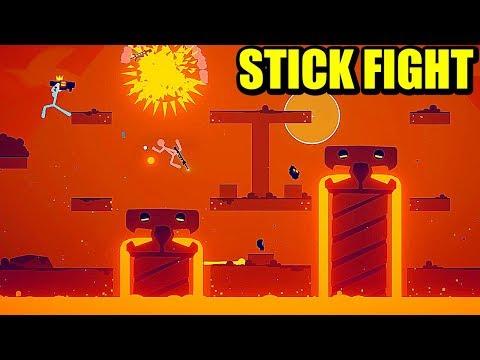 LAVA!!! NUEVAS ARMAS Y ESCENARIOS - Actualización STICK FIGHT   Gameplay Español