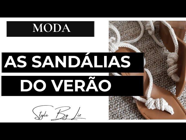 SANDÁLIAS VERÃO 2021 | ESCOLHI AS MELHORES | POR LENILIZ ORNELLAS
