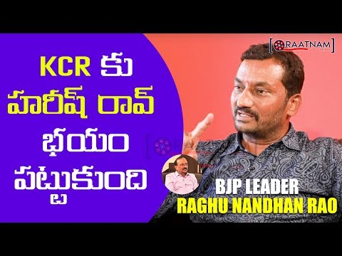 BJP LEADER RAGHUNANDAN RAO - EXCLUSIVE INTERVIEW || PART 2 || RAATNAM MEDIA