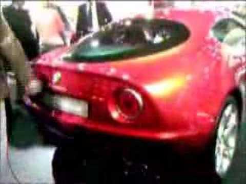 Alfa Romeo 8C 2006 Paris Auto Show