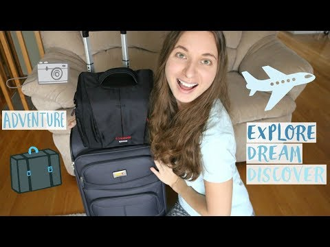 Pack With Me For Europe! | How To Pack Carry-On Only