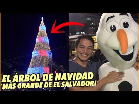 Así Es El árbol De NAVIDAD Más Grande De El Salvador | Tío Frank