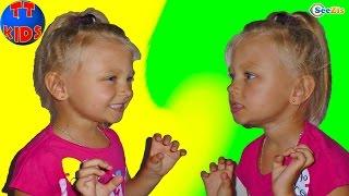 Кукла Барби. Видео для детей – Двойник Ярославы. Веселый челлендж. Barbie Doll