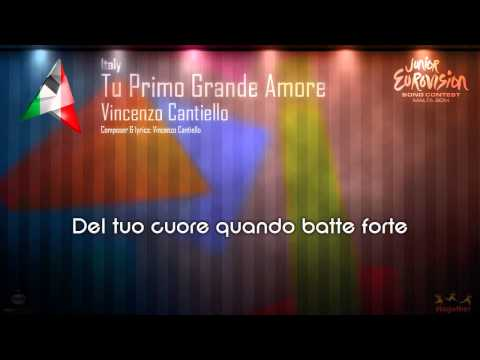"Vincenzo Cantiello - ""Tu Primo Grande Amore"" (Italy) - [Karaoke version]"