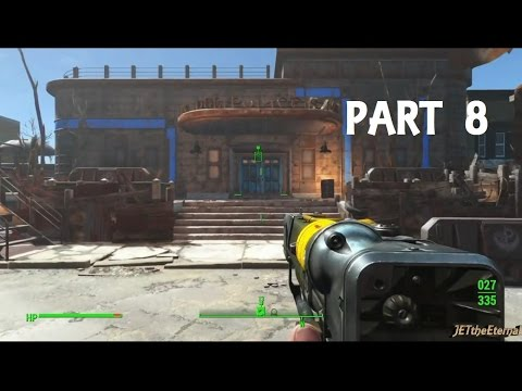 Fallout 4 Gameplay Walkthrough Part 8 - Back to Cambridge Police Station