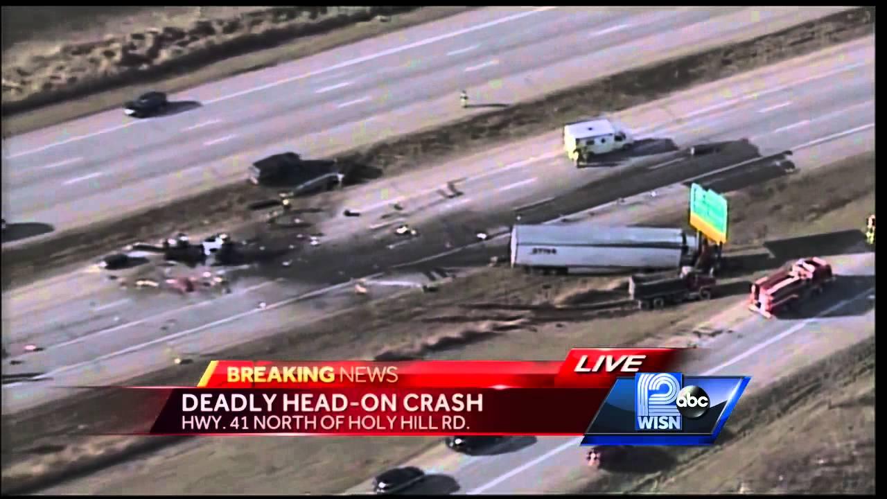 1 dead in Germantown crash, Hwy 41/45 closed