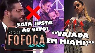 """🔥""""PIADA!"""" BRASILEIROS CRITICAM SHOW DE ANITTA EM MIAMI; MALUMA É """"OBRIGADO"""" A ELOGIAR DESAFETO"""