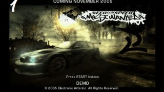 Need for Speed Most Wanted PS2 beta demo gameplay - stage 1 - HQ