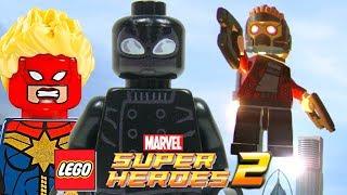 LEGO Marvel Super HEROES 2 - Gameplay Oficial com Aranha Noir, Fundo do Mar, Mundo Aberto, & MAIS!