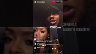 Lil Baby's baby momma & amour Jayda former business partner go live together