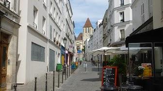 Paname, autour de la place Saint-Blaise