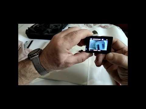 "4К экшн камера""EMBEST"". Особенности смены объектива."