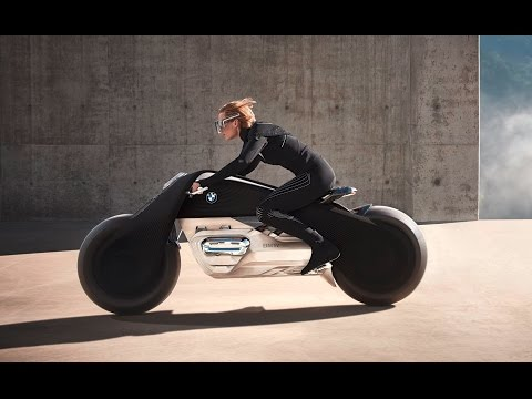 BMW Motorrad Vision Next 100, la increible moto que no se cae ni necesita casco