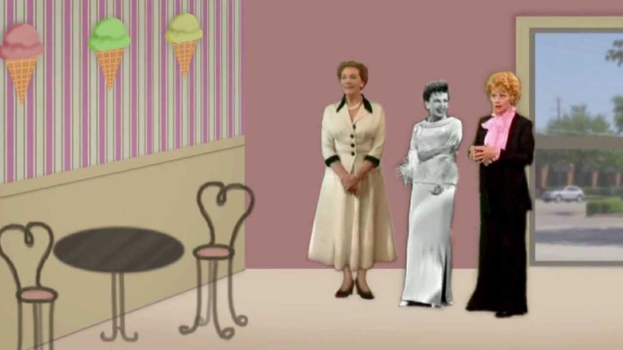 Aunt Fannys Ice Cream  Judy Garland Julie Andrews