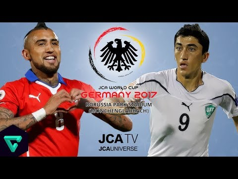 Chile vs. Uzbekistan | Group B | 2017 JCA World Cup Germany | PES 2017