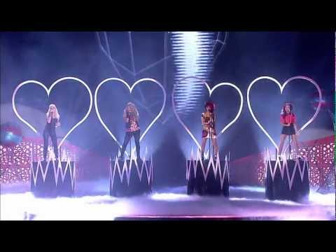 Little Mix - Don't Let Go (Live at the 2012 National Television Awards) HD