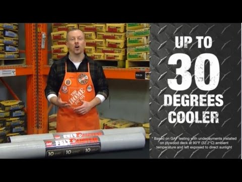 FeltBuster Synthetic Roofing Underlayment - The Home Depot