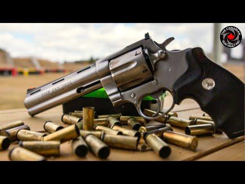 Colt Anaconda  44 Magnum Revolver - YouTube