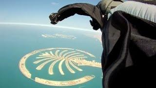 Epic Wingsuit Skydive | Dubai