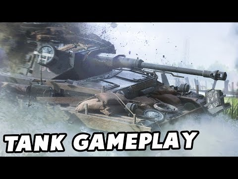 Battlefield 5 Multiplayer TANK GAMEPLAY - German Tiger Tank (BF5 Gameplay Part 1)