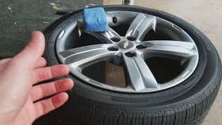 Chemcial Guy's jet seal on the wheel's?