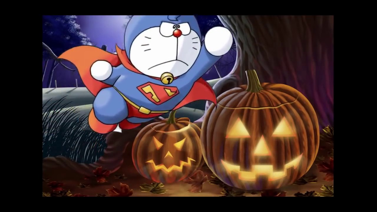 Halloween Chế Doraemon Hay Nhất   Nhạc Halloween Kinh Dị Nhất